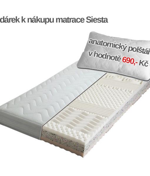 penová-matrace-siesta-a-darek-zdarma