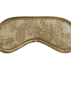 Paisley Beige - maska na spaní