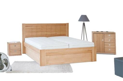 BELINDA – postel s úložným prostorem
