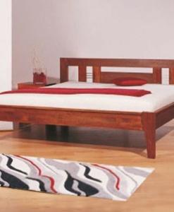 CAROL - postel z masivu - buk, dub